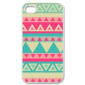 Aztec Tribal Pattern Unique Fashion Printing Phone Case for Iphone 4,4S,personalized cover case ygtg537428 by ruishername