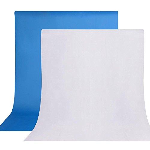 AW Portable Flat Clothing Photography Kit w/Backdrop 2X 45W Bulb 2X 33 Translucent White Umbrella Set by AW (Image #6)