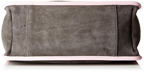 b Multicolore fume pink Épaule 01 Cm Femme X 18 Cj1 T 01 C 12x36x34 Portés H E1 Sacs Suede grac Coccinelle Bag xOqvUWwZ7W
