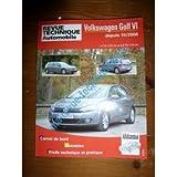 RRTAB0736.5 - REVUE TECHNIQUE AUTOMOBILE VOLKSWAGEN VW GOLF VI OU SERIE 6 depuis 10/2008 1.4l TSI 122cv et 2.0l TDI 110cv