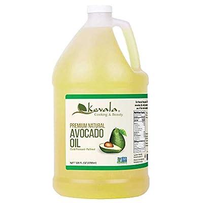Kevala Avocado Oil, 128 Fluid Ounce by Kevala International LLC