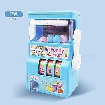 Amyove Mini Bingo Cage Lucky Fruit Bingo Cage Juego de Mesa de Juguete Azul: Amazon.es: Juguetes y juegos