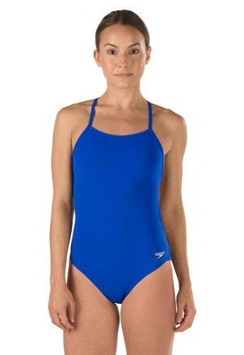Speedo Turnz The One Endurance Lite One Piece Swimsuit, Speedo Blue, Size 26