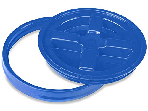 Gamma Seal Lid for 3.5, 5, 6, and 7 Gallon Plastic Pail -...