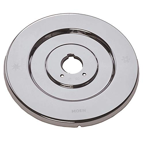 Moen 16090 Chateau Collection Replacement Escutcheon for One-Handle Tub and Shower Faucets, Chrome ()