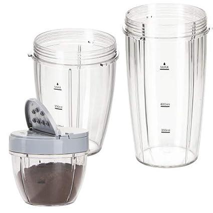 Genius Feel Vita NUTRI Licuadora | 20 piezas | Stand de licuadora | de Smoothie maker | Barajar | Remover | 23000 RPM, 600 W, 1 L, Conocido de TV, ...