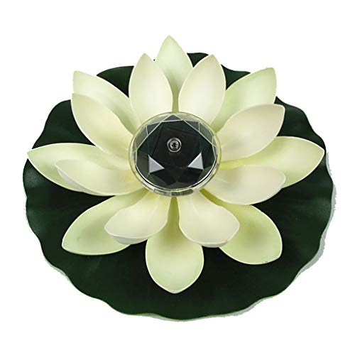 CapsA Solar Powered LED Flower Light Solar