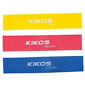 Kit Mini Bands Kikos com 3 Peças 50X5Cm