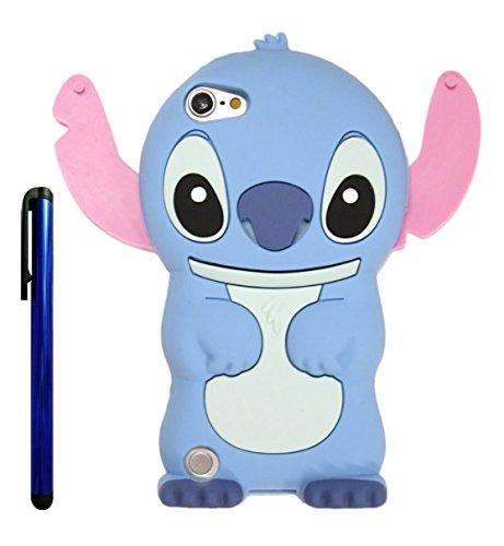 Touch 6 Case, Touch 5 Case, Cute Cartoon 3d Lilo Stitch Movable
