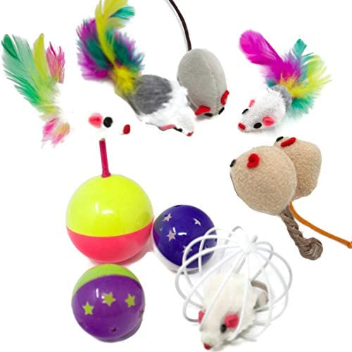 Youngever 24 Cat Toys Kitten Toys Assortments, 5