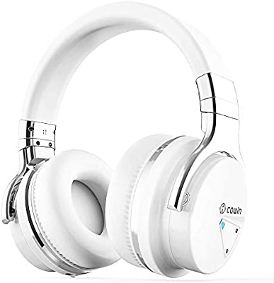 Cowin E7 Active Noise Cancelling Bluetooth Headphones Amazon Co Uk Electronics