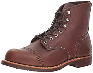 Red Wing Heritage Iron Ranger 6-Inch Boot, Amber Harness, 8 D(M) US (B001IOLGH8) | Amazon price tracker / tracking, Amazon price history charts, Amazon price watches, Amazon price drop alerts