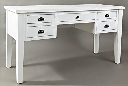 Best home office desk: Jofran Artisan's Craft 5-Drawer Desk