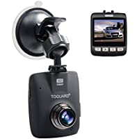 TOGUARD Car Dash Cam 2 LCD, On Dash Video Recorder Full HD 1080P H.264, Vehicle Camera Camcorder with G-Sensor, Parking Monitor, Loop Recording