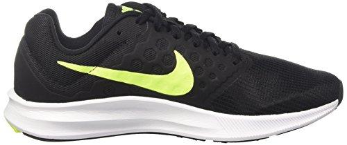 Nike Heren Downshifter 7 Loopschoen Zwart / Volt / Wit