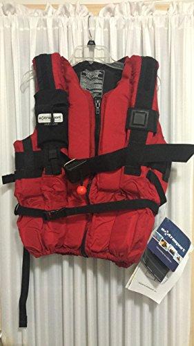 Extrasport Jackets Life (Extrasport Swiftwater Ranger Life Jacket - Red XL)