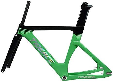 Tideace Carbon Track Frame - Marco de Bicicleta de Carretera ...