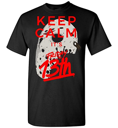 Keep Calm It's Friday The 13th - Jason Voorhees Halloween Adult/Youth Shirt -