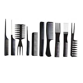 100/% Salon Hair Styling Friseur Friseur Barbiere K/ämme Set