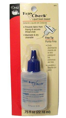 Dritz 674 Fray Check Liquid Seam Sealant, 0.75-Fluid Ounce