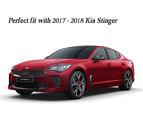 Kia Stinger M/&S Rear Bumper Guard Diffuser Molding Black Color For 2018~2020