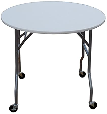 36 inch round table international concepts 36 inch round folding table on wheels amazoncom wheels kitchen dining