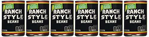 (Ranch Style Beans, Sliced Jalapeno Peppers, 15oz Can (Pack of 6))