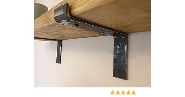 Soportes de estante para tabla de andamios de acero inoxidable, 1 par: Amazon.es: Hogar
