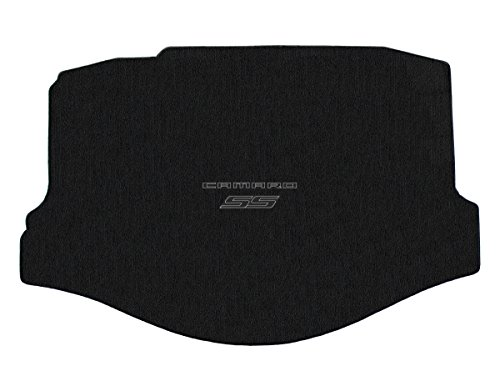 Lloyd Mats - Classic Loop Ebony Standard Trunk Mat for Camaro SS Convertible 2011-15 with Black/Graphite Camaro SS ()