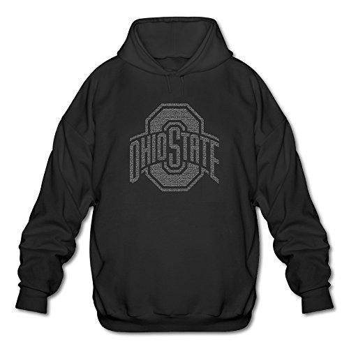 MKKHP Men's Ohio State Buckeyes Grand Slam Hoodie Black -