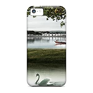 XiFu*MeiPerfect Harbor Swans Cases Covers Skin For iphone 6 plua 5.5 inch Phone CasesXiFu*Mei