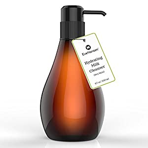 Hydrating Milk Cleanser by Eve Hansen. Hydrating and Moisturizing Face Wash for Daily Use. 6 Ounce.