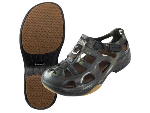 Shimano evair anglers deck shoe for fishing boating and for Fishing shoes for the boat
