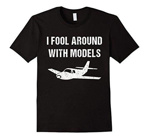 Funny Model Airplane Shirt for Model Plane Builder
