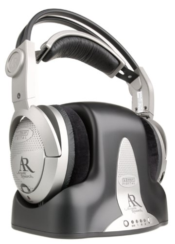Acoustic Research AW791 Wireless Surround Headphones (Silver)