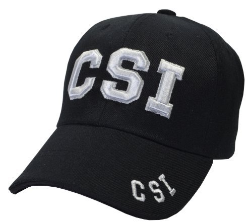 Incrediblegifts CSI Hat Baseball Cap by Incrediblegifts (Image #1)
