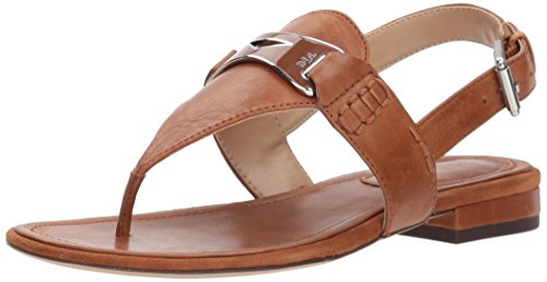 best wholesale sale online Ralph by Ralph Lauren Women's Dayna Flat Sandal Tan cheap free shipping XikS3ykJL