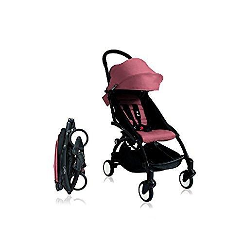BabyZen Yoyo+ Stroller Black Frame (Ginger)