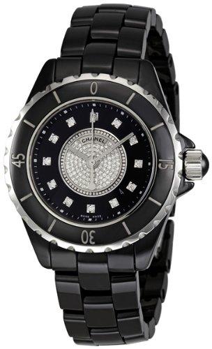 Chanel Women's H2122 J12 Diamond Dial Watch