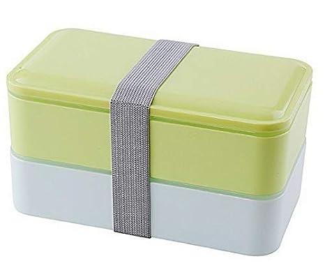 e9ae02d403f2 Amazon.com: Mikash Double Layer Lunch Box Food Storage Container ...