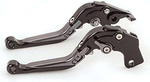 FXCNC Racing CNC Aluminium Folding Erweiterbar Einstellbare Bremskupplungshebel f/ür Yamaha FJR 1300 2003,Buell 1125R 08-09,Kawasaki ZX7R//ZX7RR 89-03,RX1100//1200 99-07
