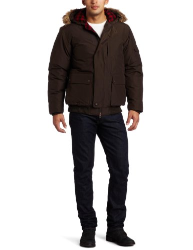 Woolrich Men's Rescue Jacket, Dark Wood Heather, XX-Large