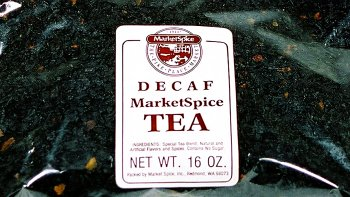 MarketSpice CINNAMON-ORANGE Decaf Tea 16 OZ (454G)