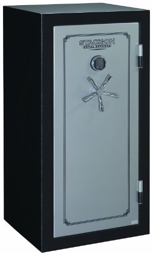Stack-On TD-28-SB-E-S Total Defense 28-Gun Security Safe with Electronic Lock