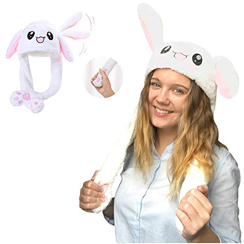 Ashley city Bunny Hat, Rabbit Ear hat, Plush