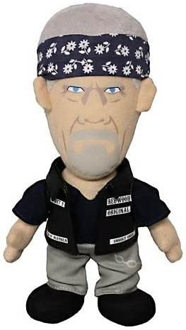 "Sons of Anarchy peluche figurine Clay Morrow 8/"" plush"