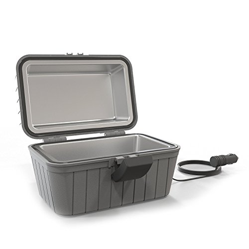 Gideon Heated Electric Lunch Box 12-Volt Portable Stove – Heated Lunch Box for Car, Truck, Camping, Etc. - Enjoy Hot Delicious Meals