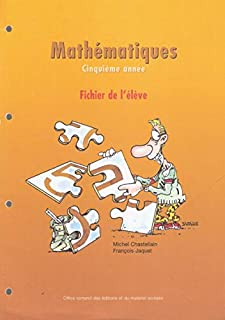 7H – Mathématiques – Fichier de l'élève, Chastellain, Michel