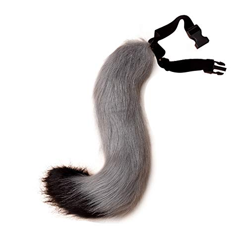 Teen Adult Faux Fur Fox's Tail for Cosplay Halloween Party Anime Expo Costume