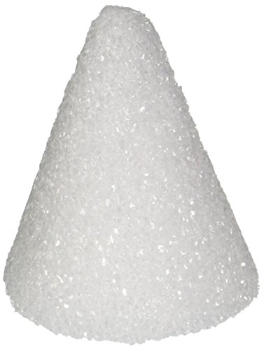 Styrofoam Cone - Hygloss Products Styrofoam Cones – 3 Inch White Cones for Floral Arrangements and Projects, 12 Pack